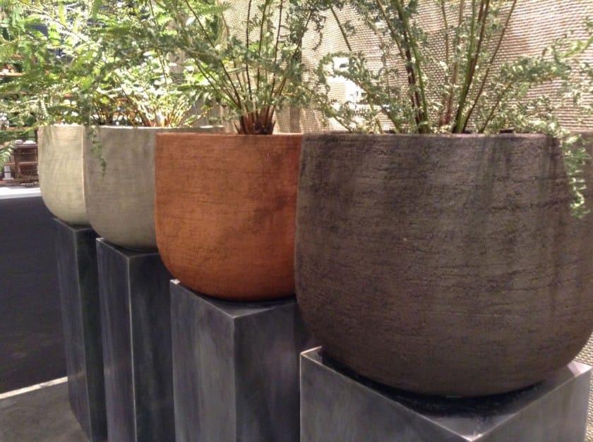 Terracotta vase GRAZ - Domani