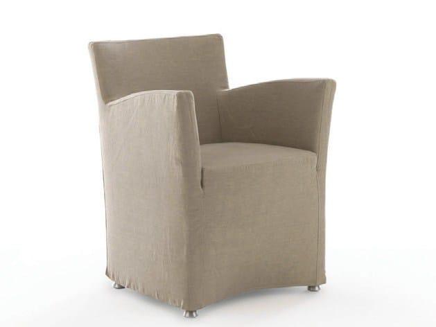 Fabric easy chair GRETA - Bolzan Letti