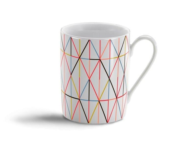 Espresso cup GRID MULTITONE MUG by Vitra