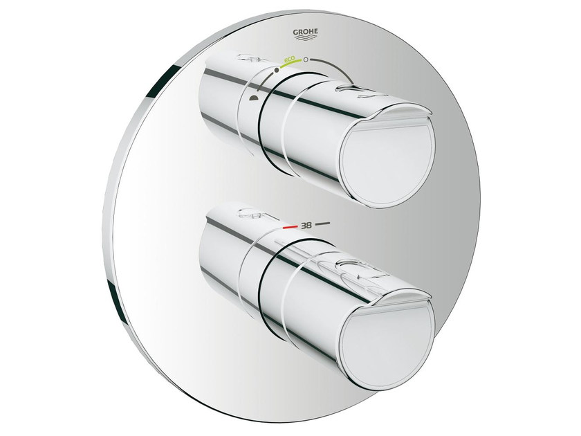 Wall-mounted thermostatic bathtub/shower mixer GROHTHERM 2000 | Bathtub mixer - Grohe