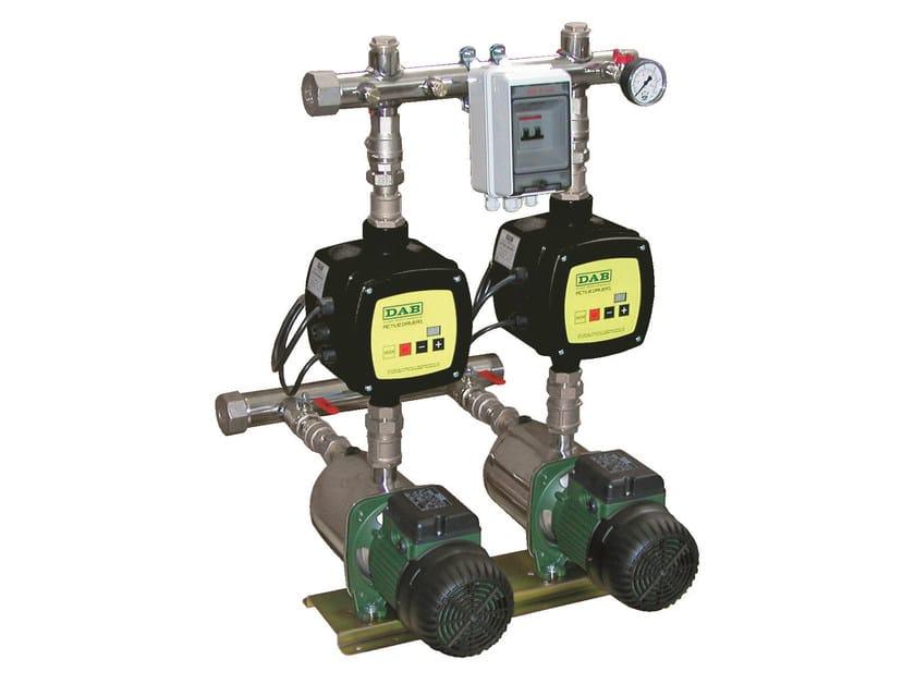Constant pressure set DOMESTIC PUMPS SETS WITH ACTIVE DRIVER - Dab Pumps