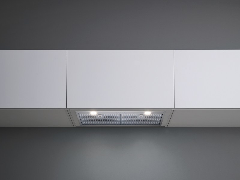Wall-mounted stainless steel cooker hood with activated carbon filters GRUPPO INCASSO NRS - Falmec