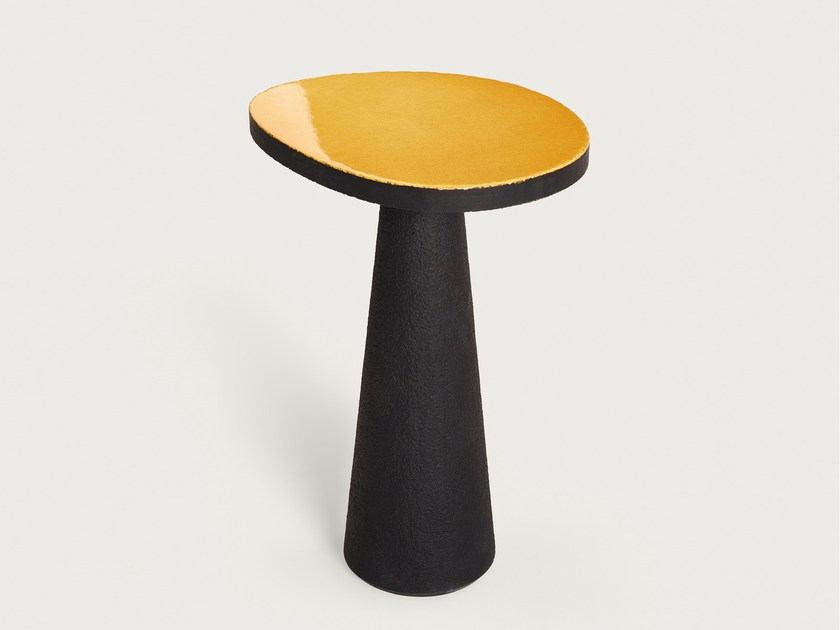 Lava stone side table GUE'RIDON TABLE by Made a Mano