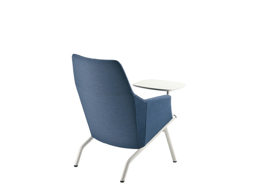 Fabric guest chair DAMA LOUNGE PLAIN | Easy chair by Sesta