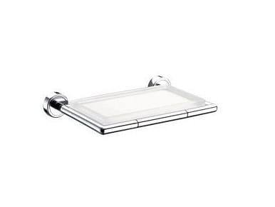 Portasapone a muro in vetro H2O | Portasapone in vetro - INDA®