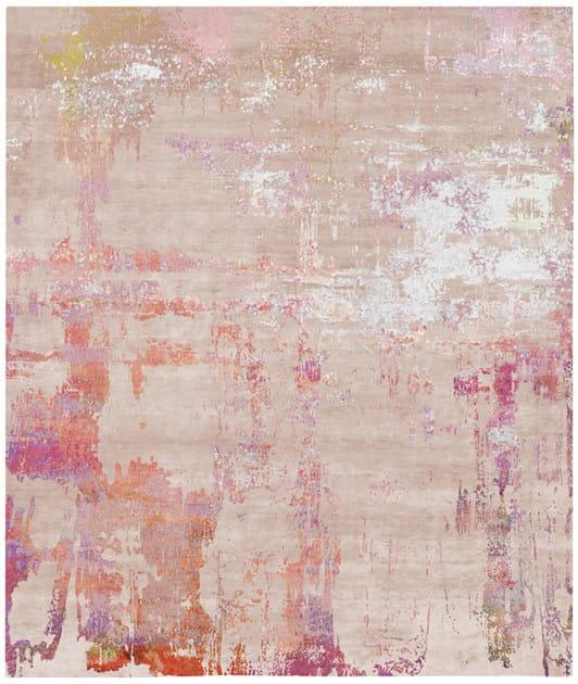 Handmade rectangular rug HAGBY - HENZEL STUDIO