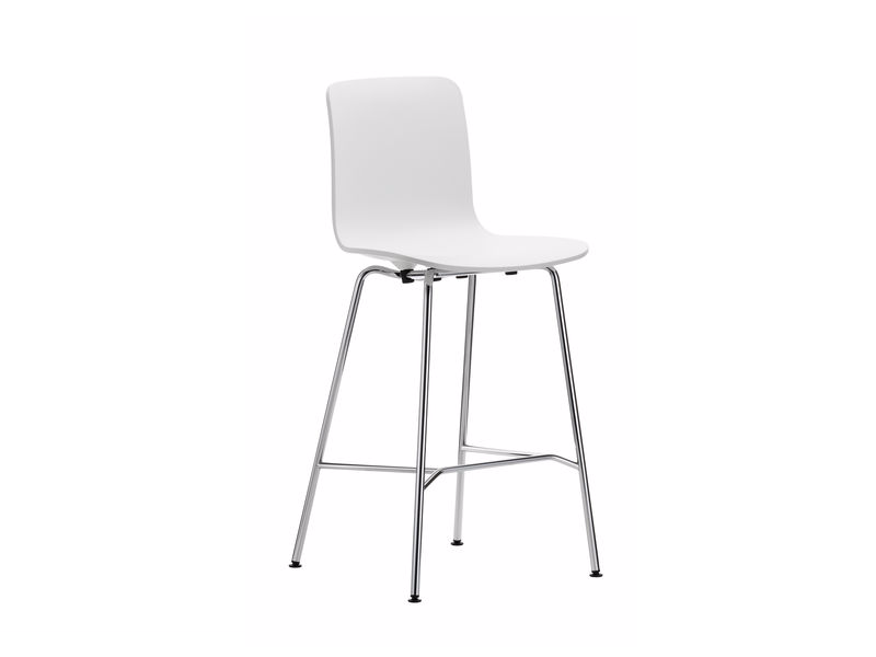 Polypropylene barstool HAL STOOL MEDIUM by Vitra
