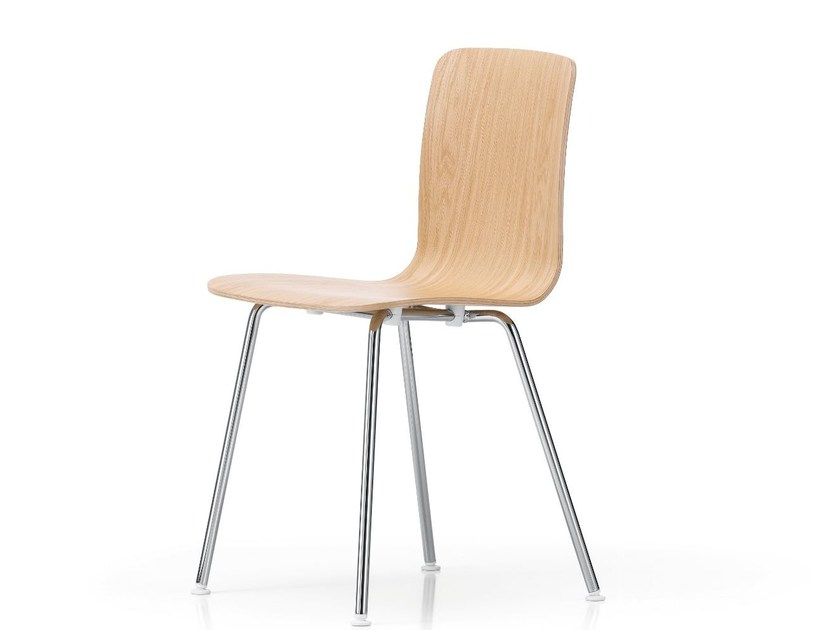 Wooden chair HAL PLY TUBE - Vitra