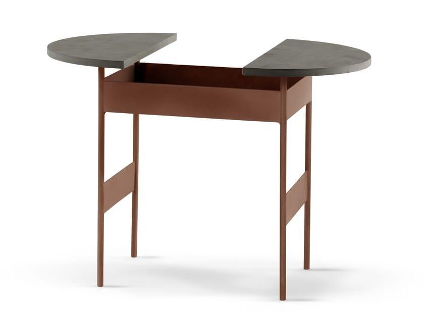 Tavolino comodino in metallo halfie my home collection - Tavolino comodino ...