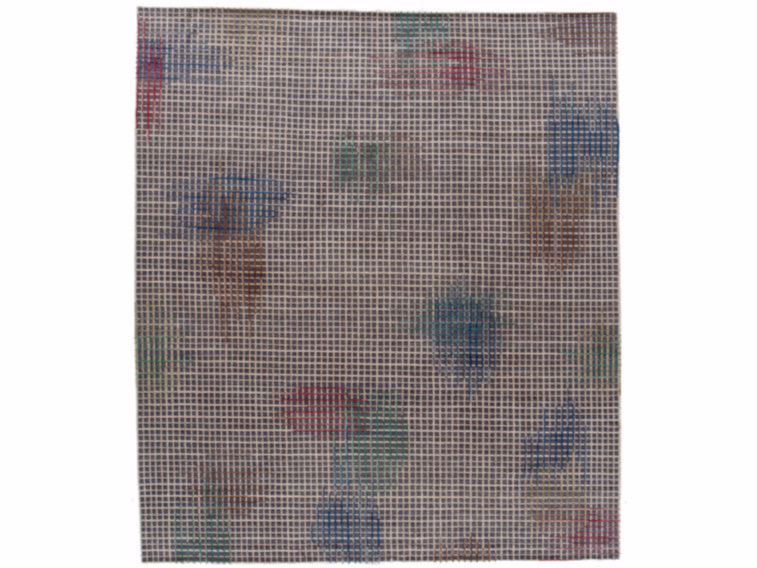 Handmade rectangular rug HALO DARK by Golran