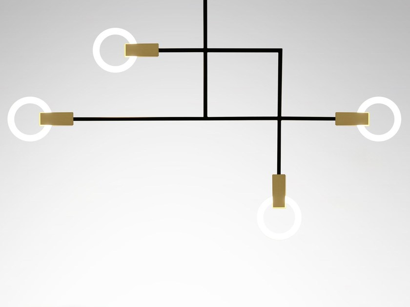 Lampada a sospensione in alluminio HALO REACH - Matthew McCormick