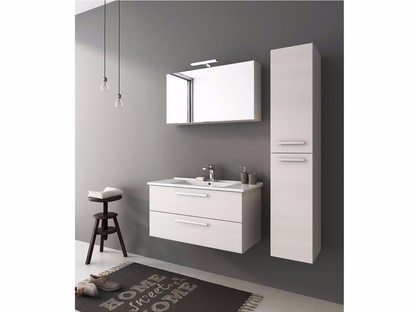 Mobile lavabo sospeso con cassetti HARLEM H20 - LEGNOBAGNO