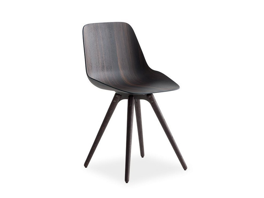 Wooden chair HARMONY | Chair - Poliform