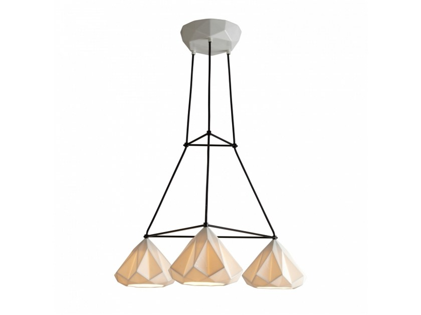 Porcelain pendant lamp with dimmer HATTON 1 | Pendant lamp with dimmer - Original BTC