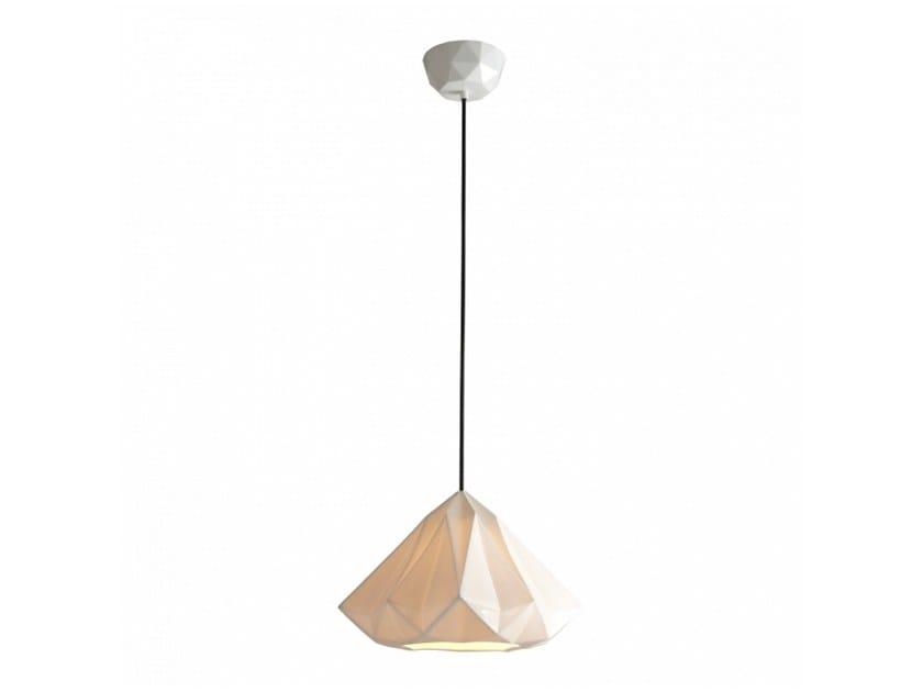 Porcelain pendant lamp with dimmer HATTON 2 | Pendant lamp - Original BTC