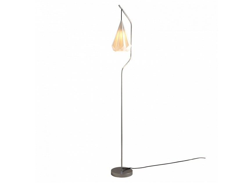 Porcelain floor lamp with dimmer HATTON 3 | Floor lamp - Original BTC