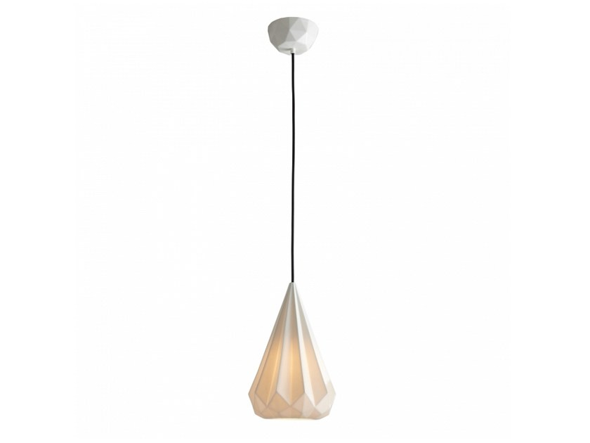 Porcelain pendant lamp with dimmer HATTON 3 | Pendant lamp by Original BTC