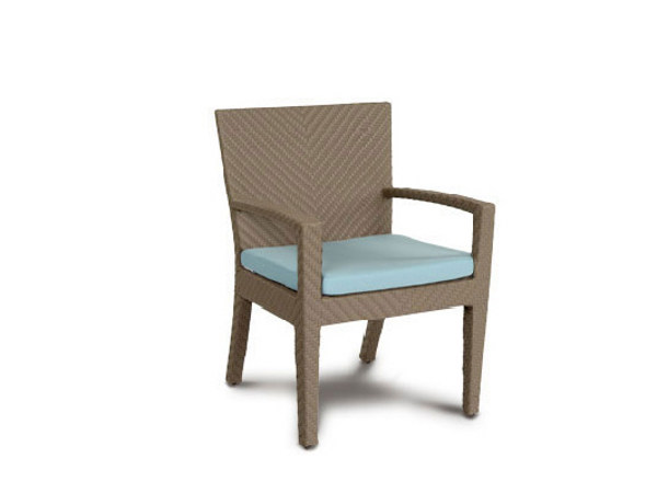 Garden chair with armrests HAVANA | Chair with armrests - 7OCEANS DESIGNS