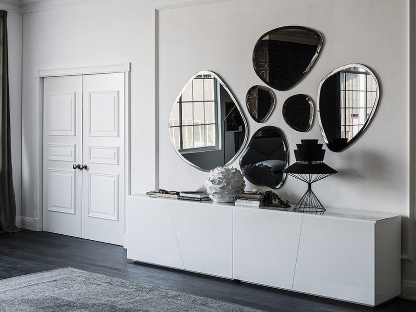 specchio a parete hawaii cattelan italia