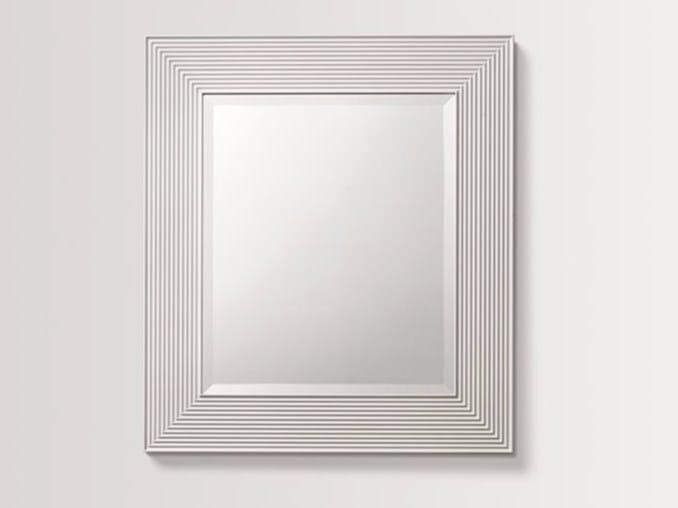 Specchio rettangolare a parete con cornice HAZE - BATH&BATH