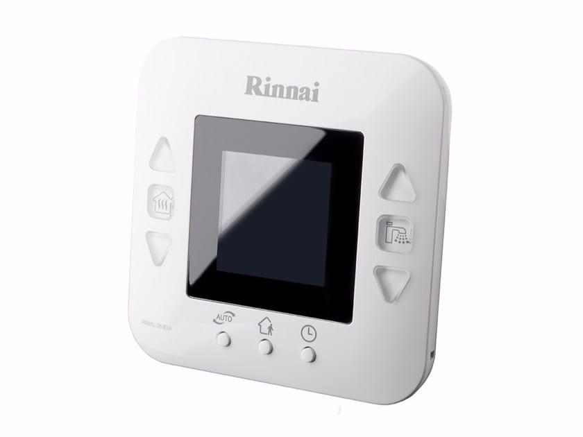 Heat regulation and hygrometric control MIRAI THERMOSTAT - Rinnai Italia
