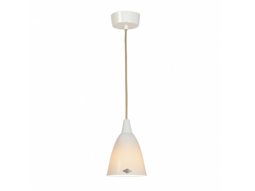 Porcelain pendant lamp with dimmer HECTOR 1 - Original BTC