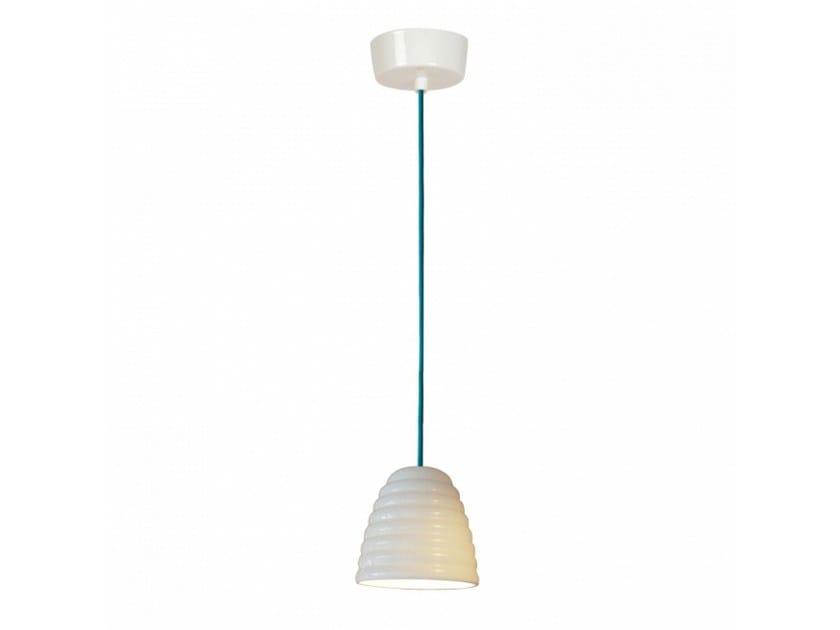 Porcelain pendant lamp with dimmer HECTOR BIBENDUM 1 | Pendant lamp - Original BTC