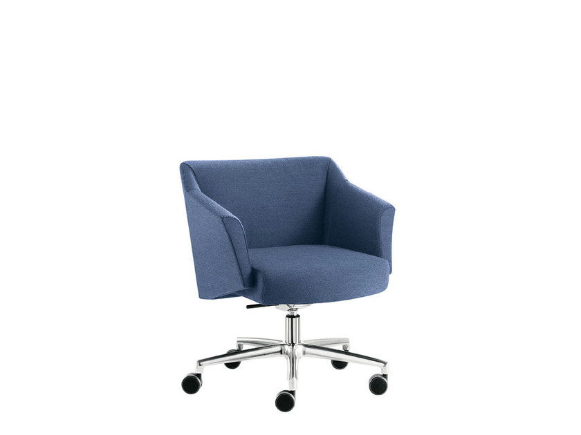 Height-adjustable fabric chair DAMA PLAIN | Height-adjustable chair by Sesta