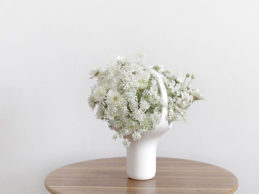 Ceramic vase HEIRLOOM 1 - Moustache