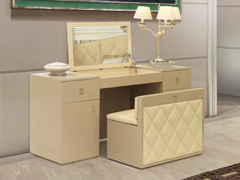 Leather dressing table HELLEN | Dressing table - Formitalia Group