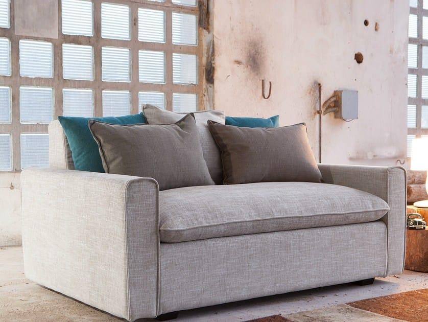 Upholstered 2 seater fabric sofa HENRI | 2 seater sofa - Domingo Salotti