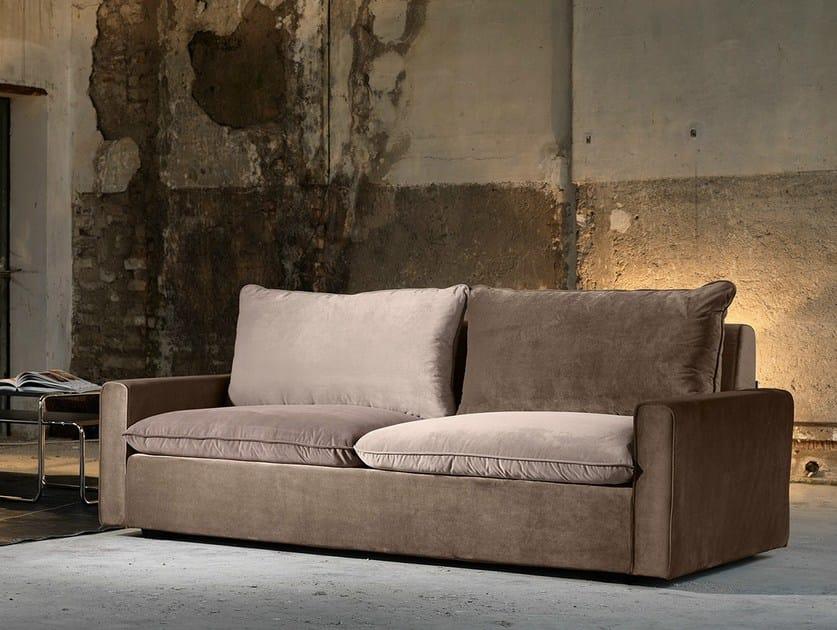 3 seater fabric sofa with chaise longue HENRI | 3 seater sofa - Domingo Salotti