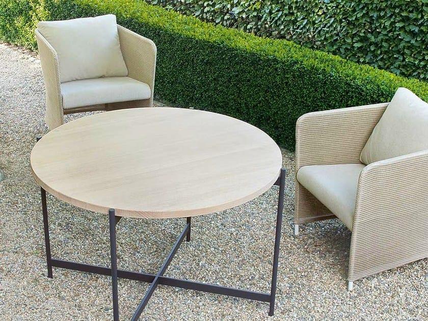 Tavolo da giardino rotondo heron tavolo da giardino paola lenti - Tavolo rotondo da giardino ...