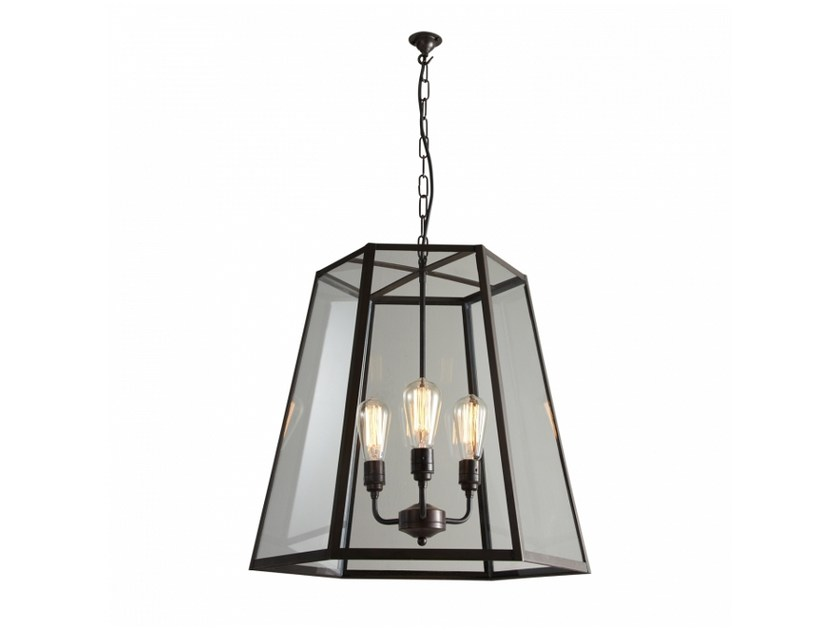 Glass pendant lamp with dimmer HEX XL - Original BTC