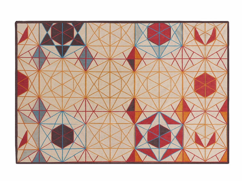Rectangular wool rug HEXA | Rectangular rug - GAN By Gandia Blasco