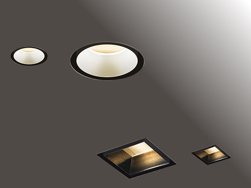 LED recessed extruded aluminium spotlight HIDE | Spotlight by Artemide