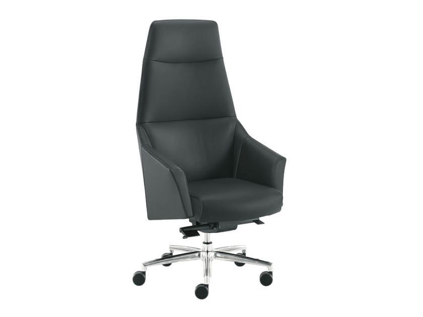 High-back executive chair DAMA PLAIN   High-back executive chair - Sesta