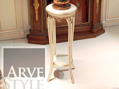 Solid wood high side table BAROQUE | High side table - Arvestyle