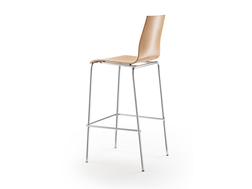 High stackable stool GARCIA | High stool by rosconi