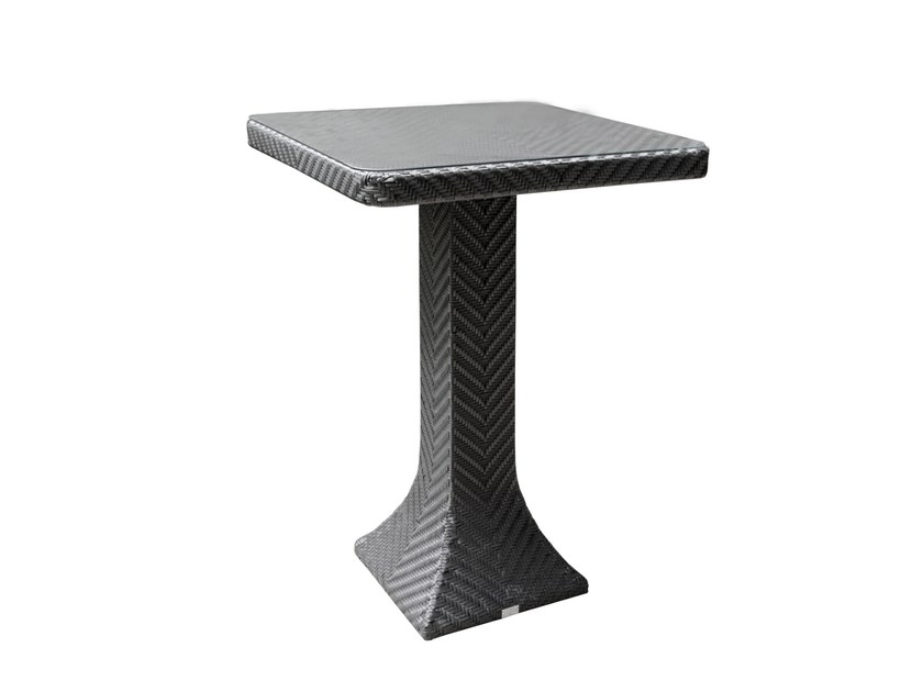 Square high table DORIC | High table - 7OCEANS DESIGNS