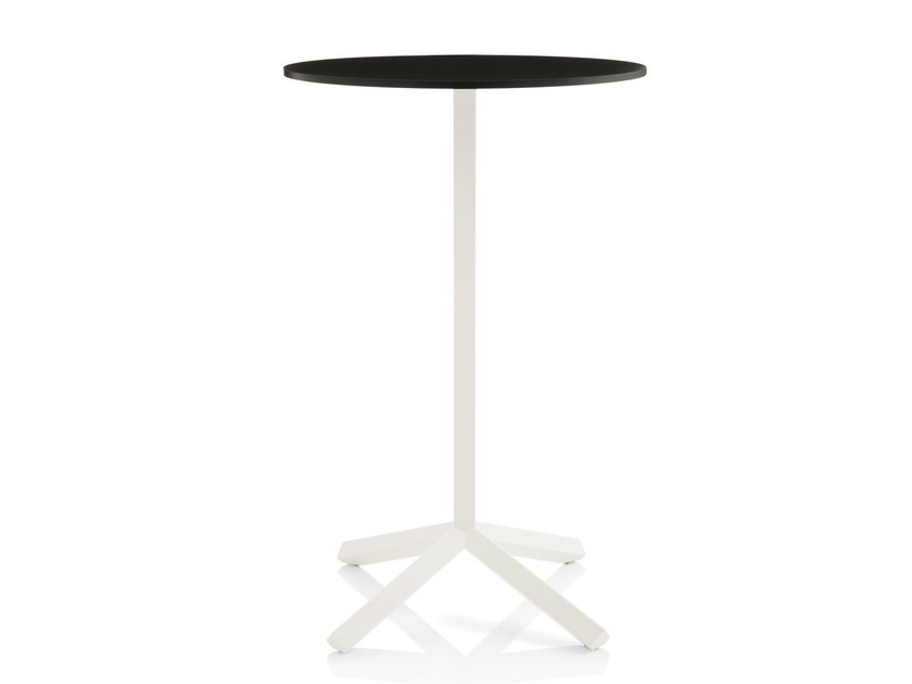 Round MDF high table FLAMINGO | High table by Emmegi