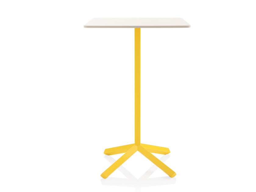 Square MDF high table FLAMINGO | High table by Emmegi