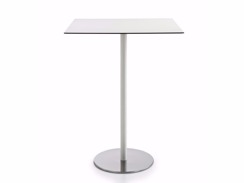 Square MDF high table INTONDO | High table by Luxy