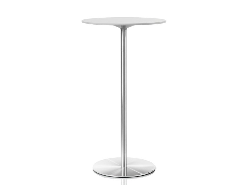 Round HPL high table PASSE-PARTOUT | High table by Magis
