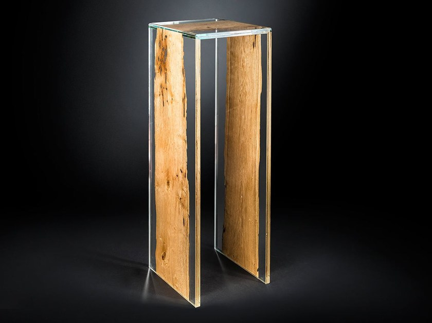 Wood and glass high table VENEZIA | High table - VGnewtrend