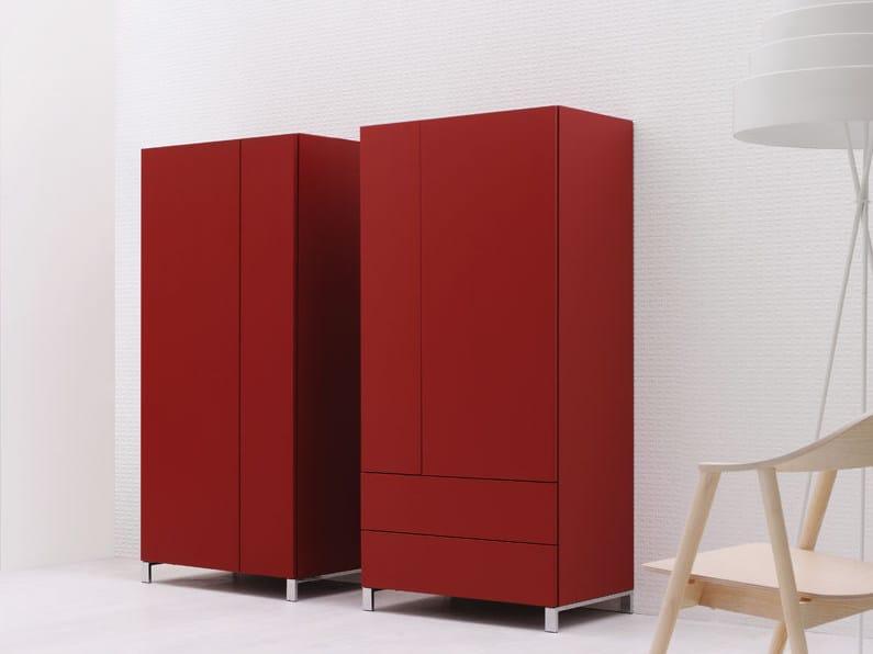 Sectional wardrobe GRAPHOS | Wardrobe - Silenia