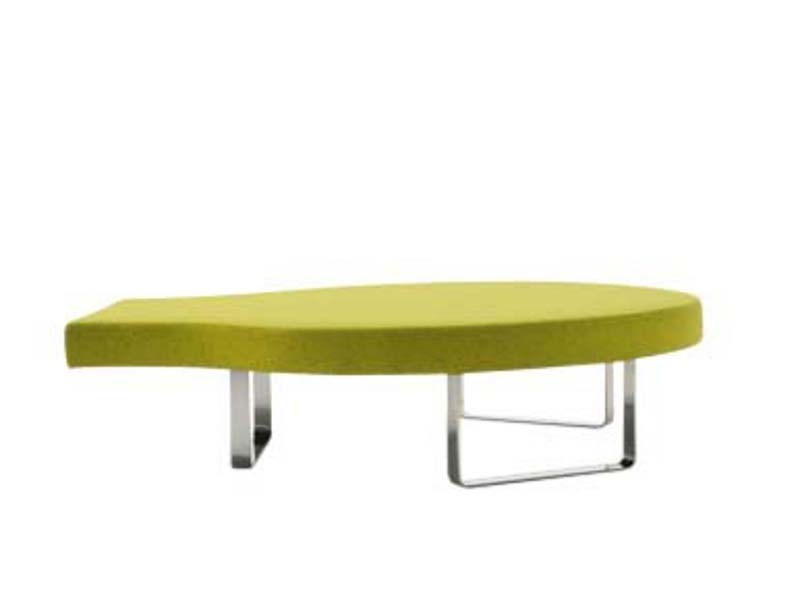 Round upholstered bench HIGHWAY Q - Segis