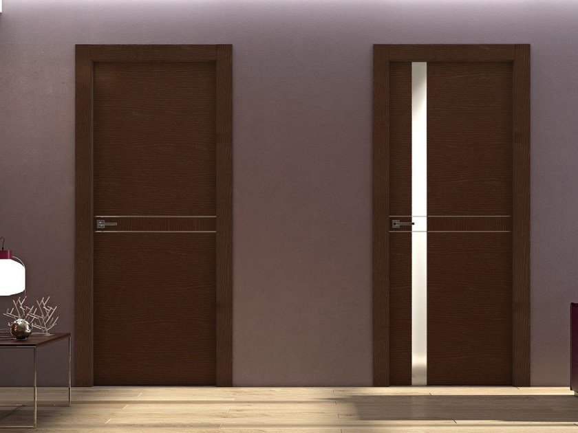 Hinged wooden door DEMETRA | Hinged door - Pail Serramenti