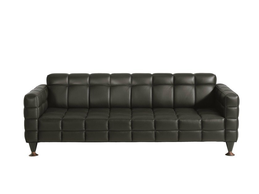 3 seater leather sofa HOFF | Contemporary style sofa - Driade