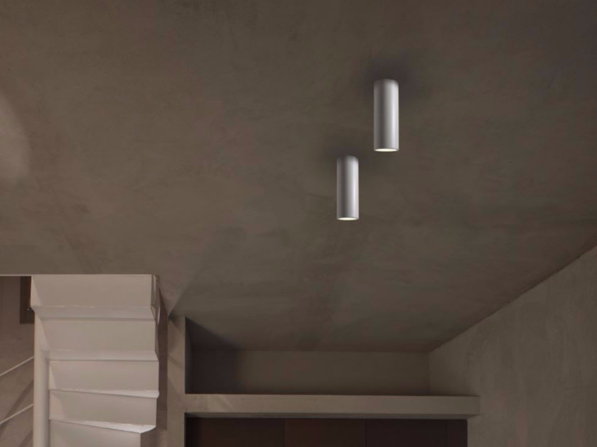 Faretto a LED in alluminio a soffitto HOLE | Faretto - GLIP by S.I.L.E